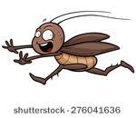 stock-vector-vector-illustration-of-cartoon-cockroach-running-276041636